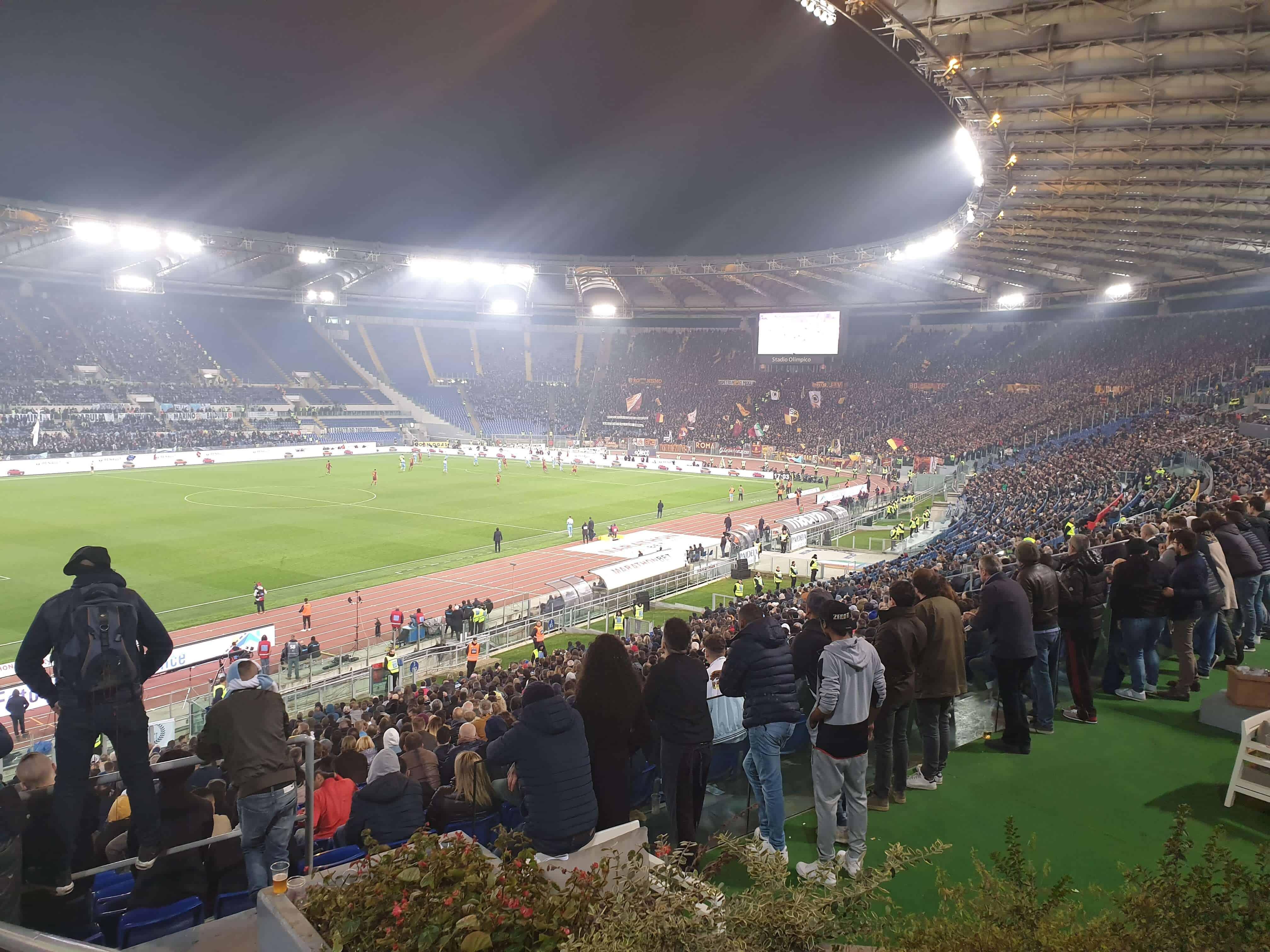 Roma -Lazio. Derby della Capitale.