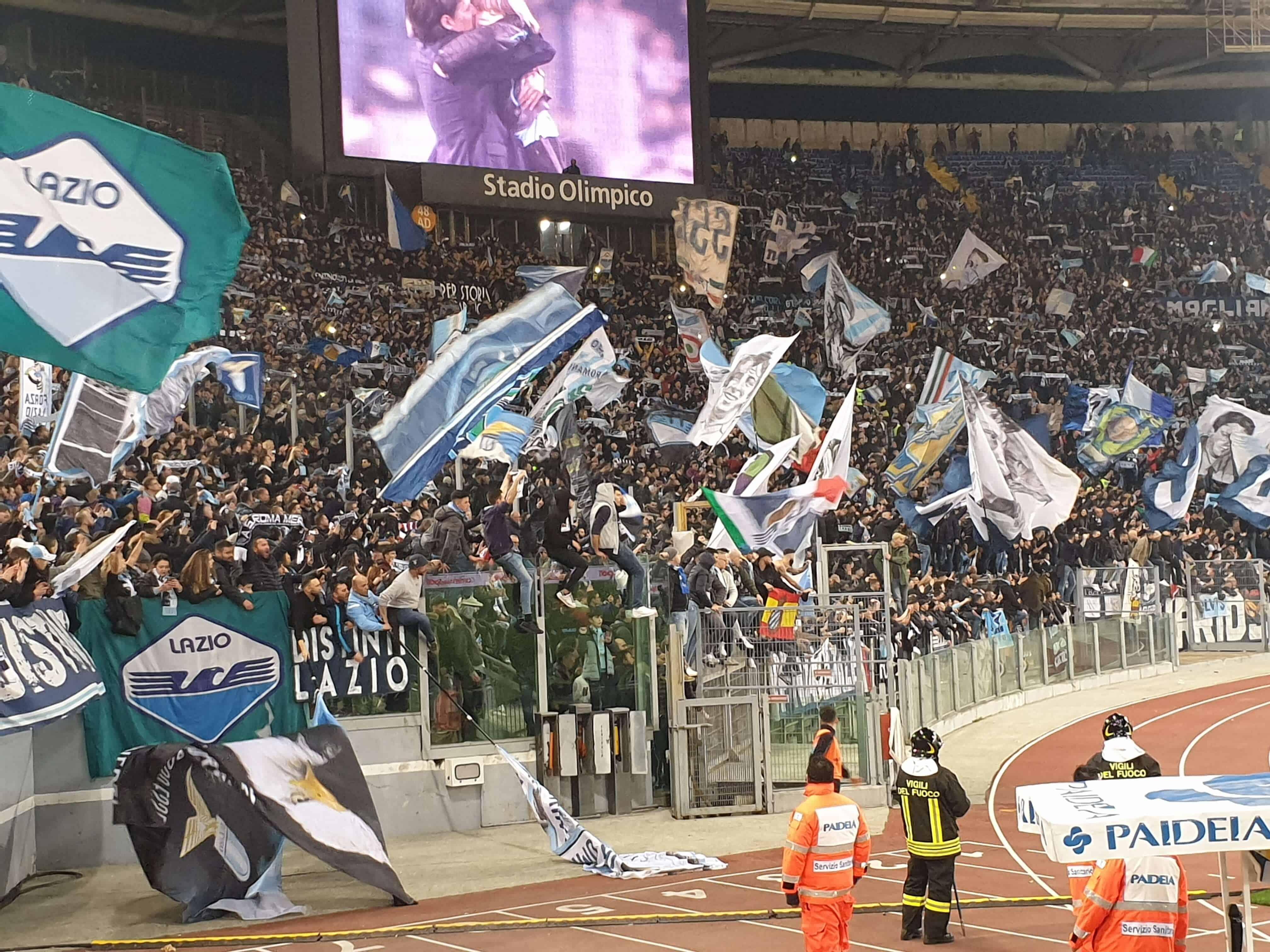 Roma - Lazio. Derby della Capitale.