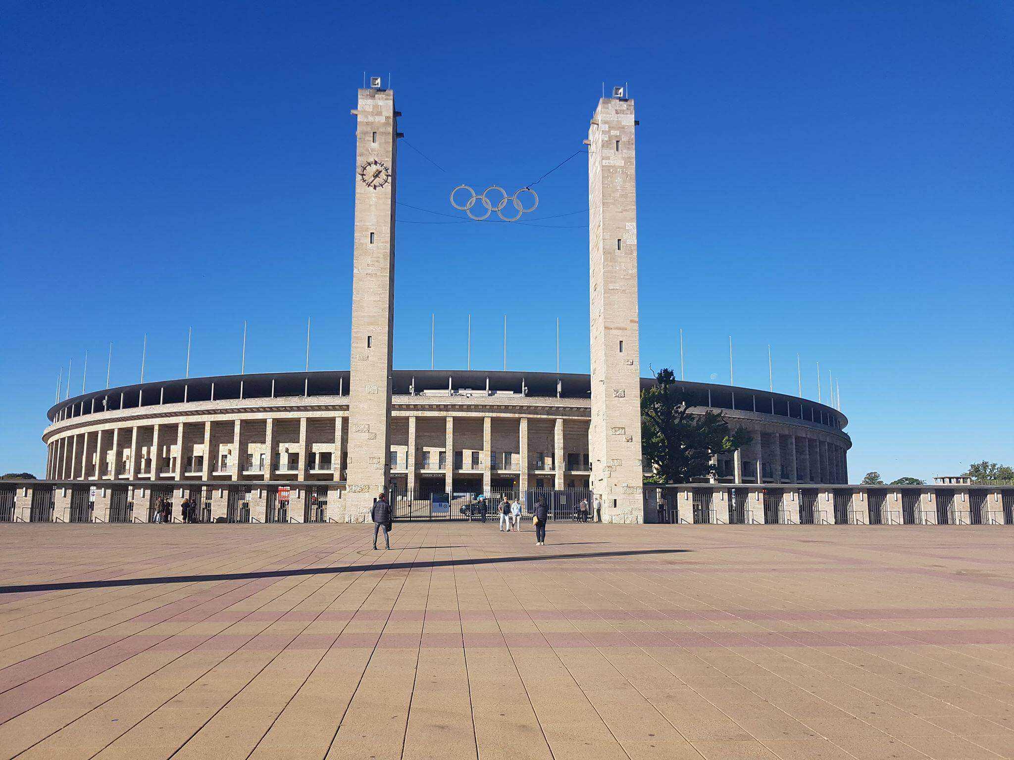 Bundesliga fodboldrejse: Hertha Berlin - Dortmund. Olympia Stadion Berlin