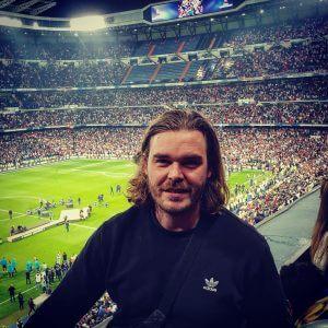 Nicolai Bryde Nielsen, stifter af Groundhopping Tours, der udbyder unikke fodboldrejser.