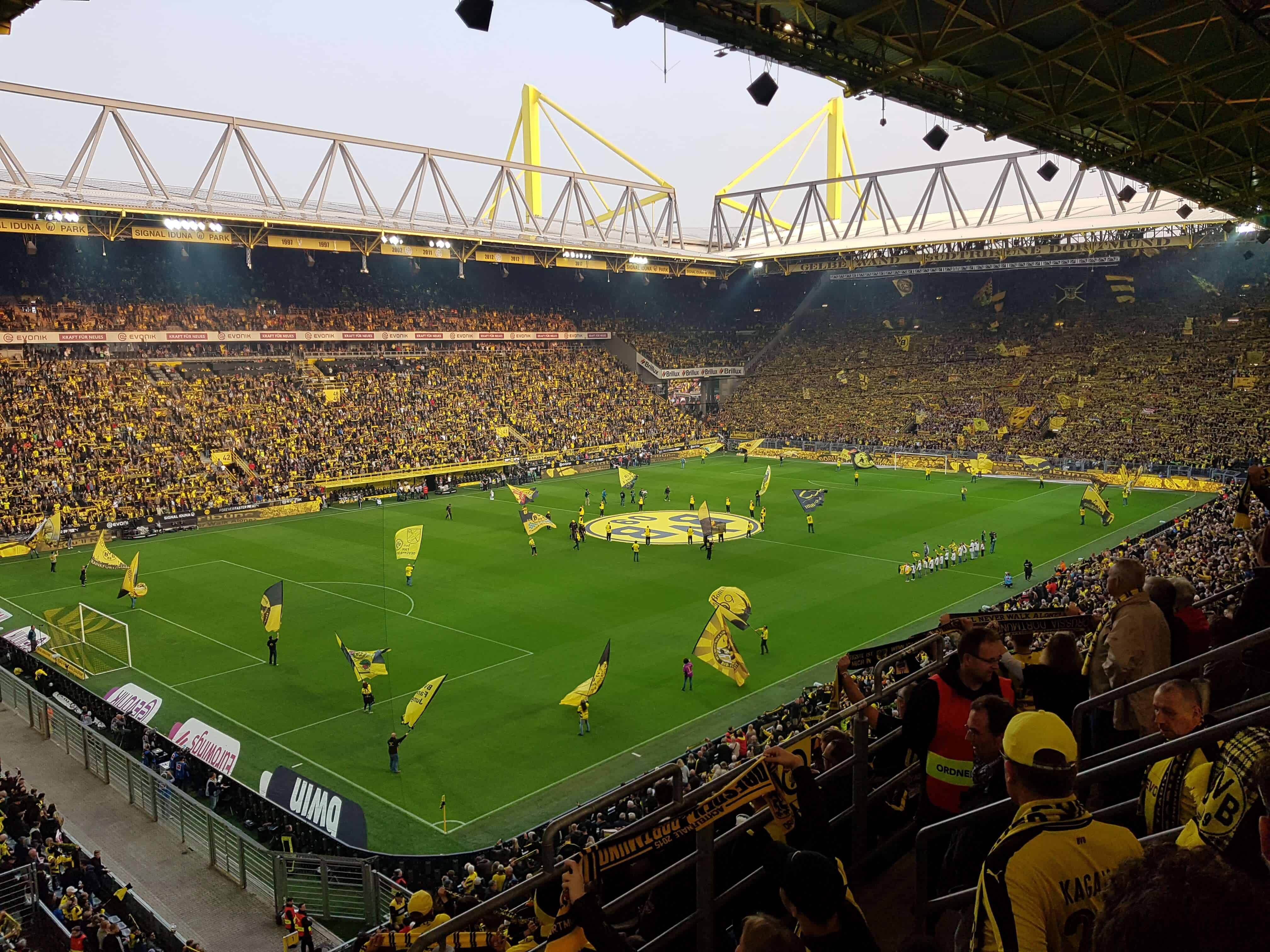 Bundesliga fodboldrejse: Borussia Dortmund
