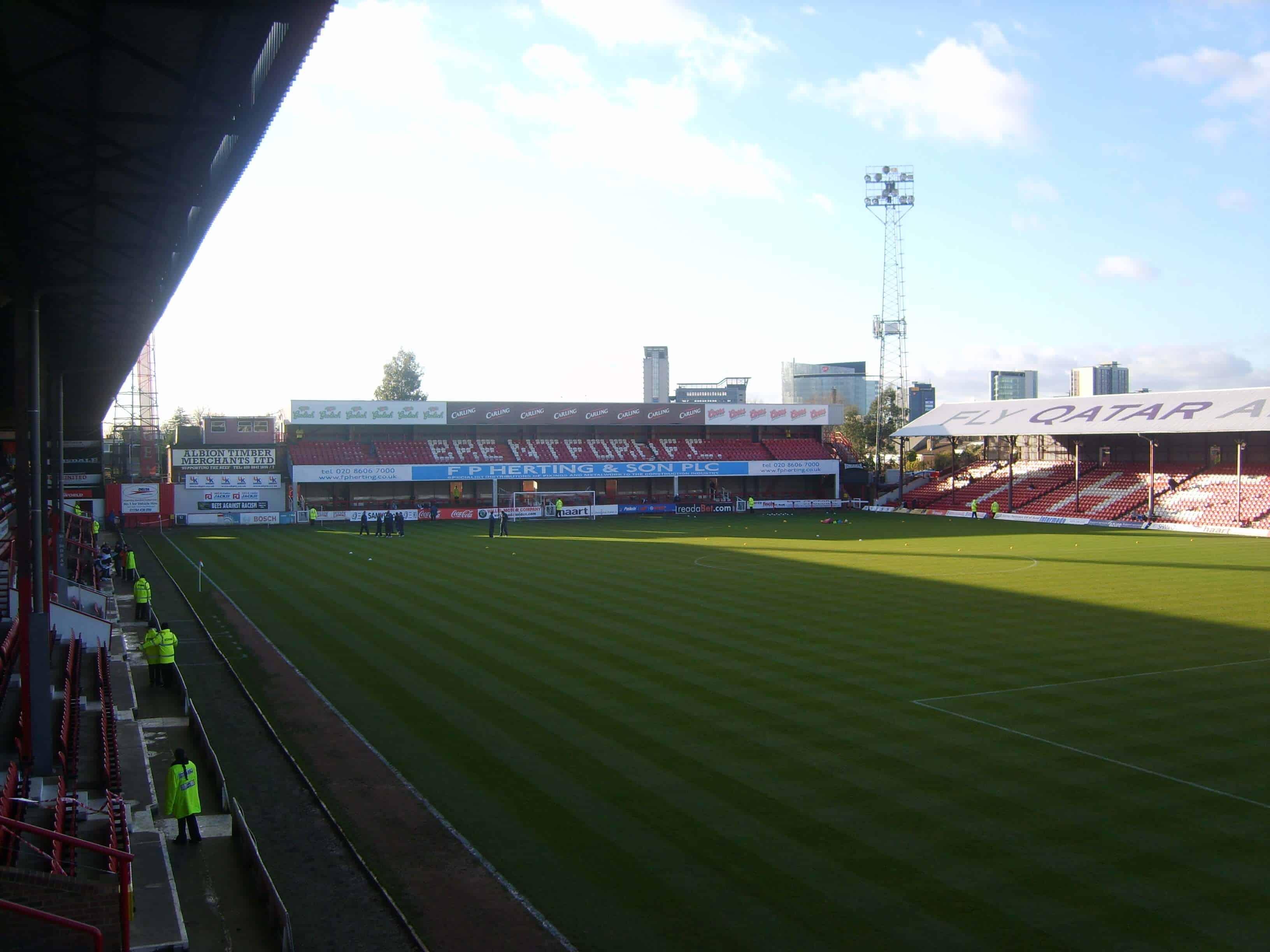 Fodboldrejse til Brentford FC