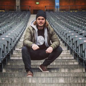 Nicolai Bryde Nielsen - stifter af Groundhopping Tours