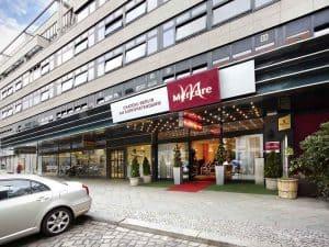 Hotellet på fodboldrejsen til Berlin