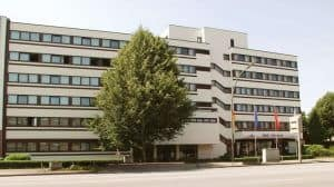 Hotel Helgoland i Hamborg: Facade
