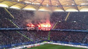 Hamburg SV Volkspark Stadion Nordkurve