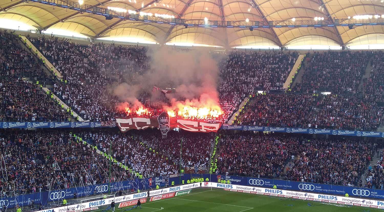 Hamburg SV Volksparkstadion Romerlys