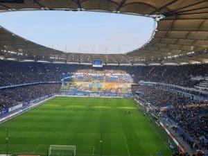 Hamburger SV Volksparkstadion Tifo
