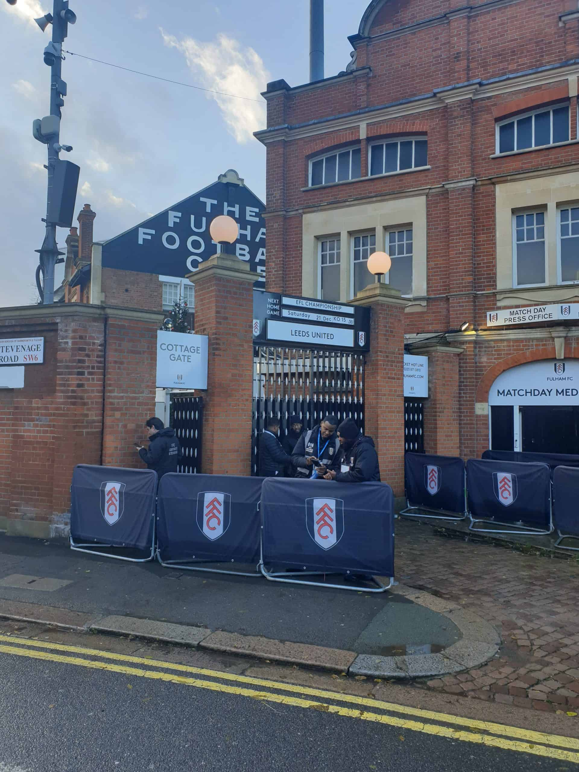 Craven Cottage Fodboldrejse London