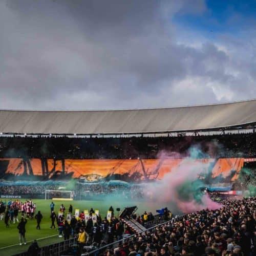 De Klassieker - Feyenoord vs. Ajax bag målet