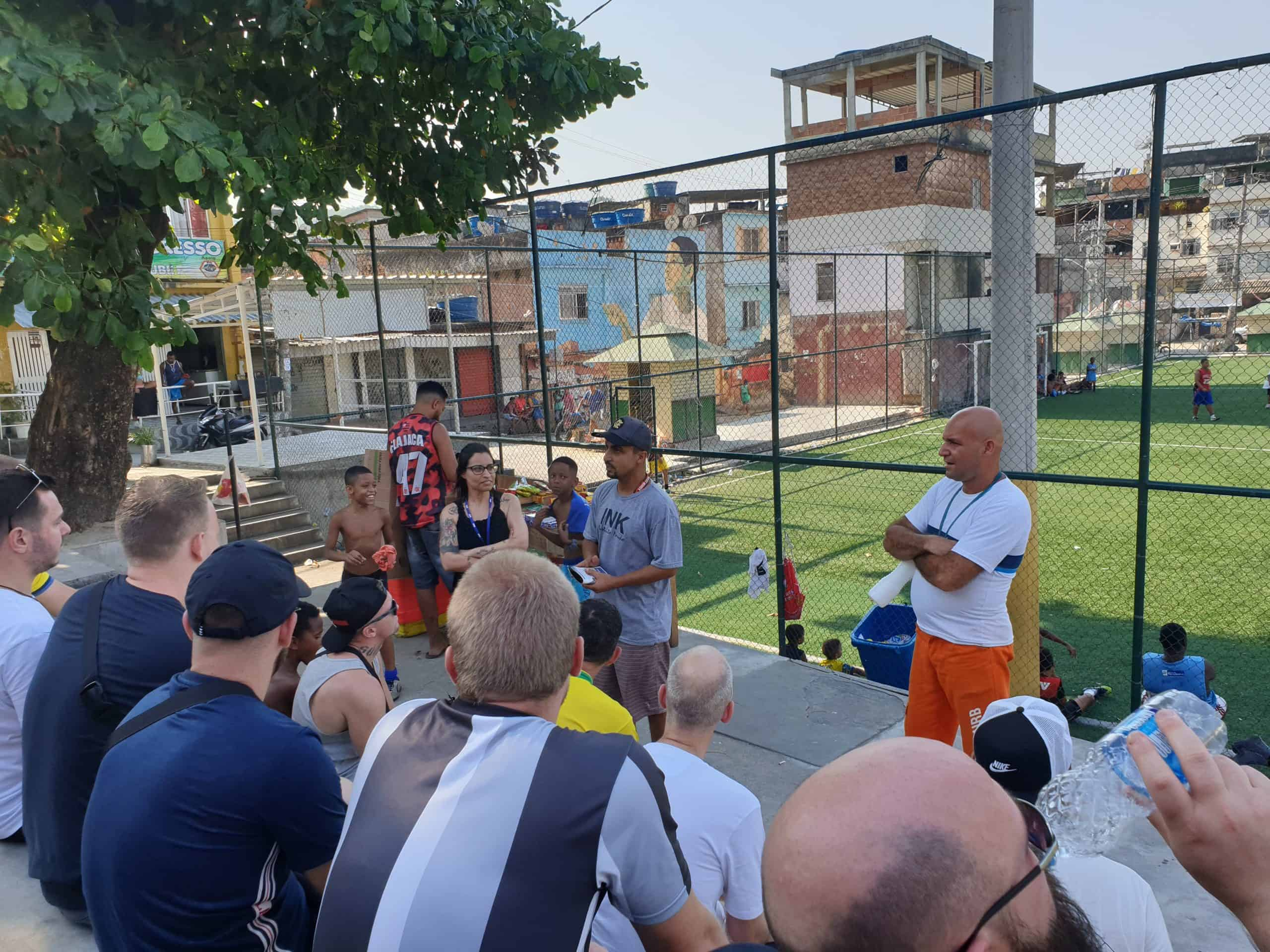 Fodboldrejse Brasilien: Fodboldprojekt i Rio