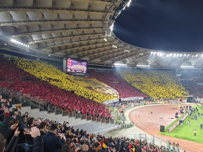 Fodboldrejse Rom: Stadio Olimpico Derby delle Capitale