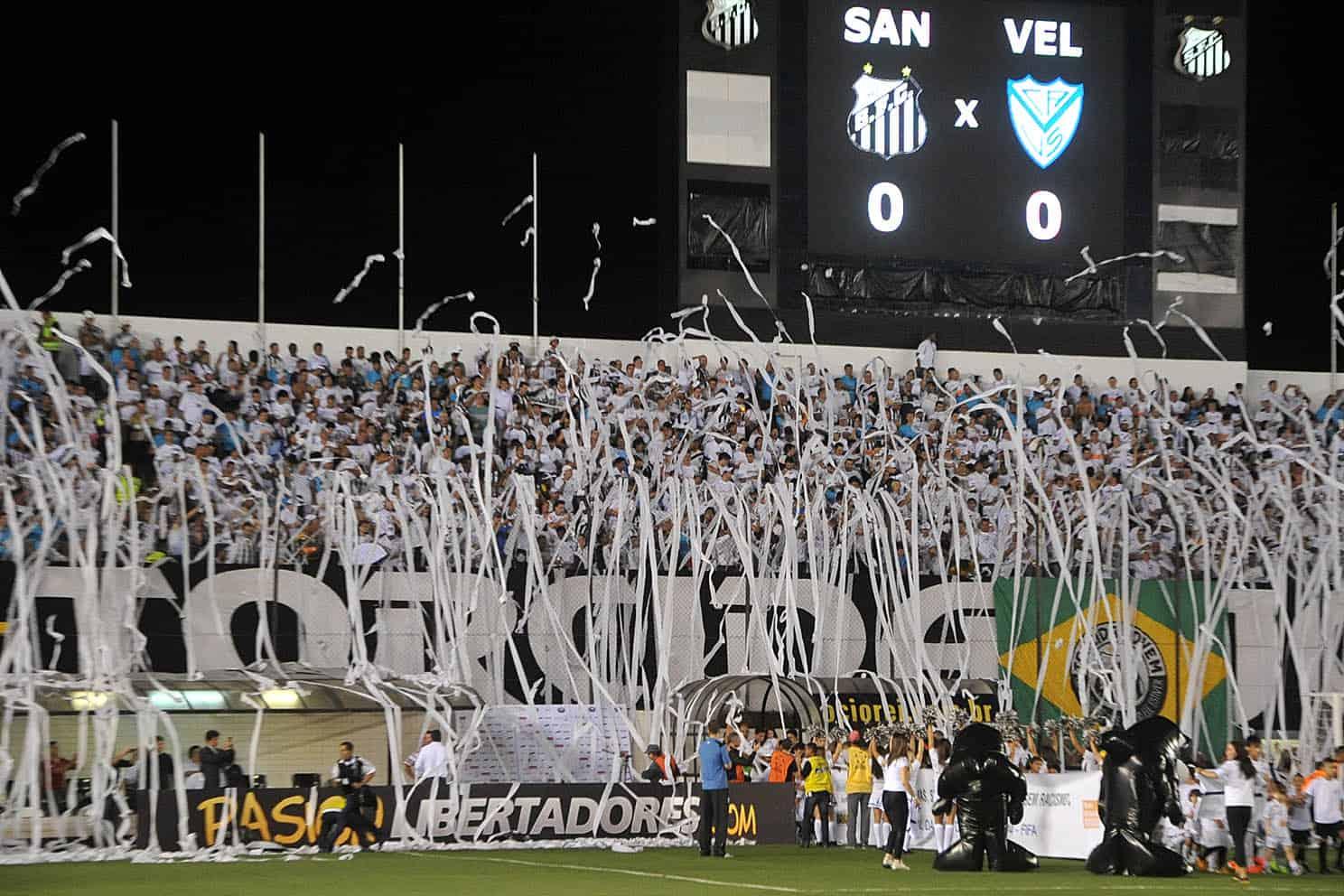 Fodboldrejser Brasilien: Santos FC på Estádio Urbano Caldeira