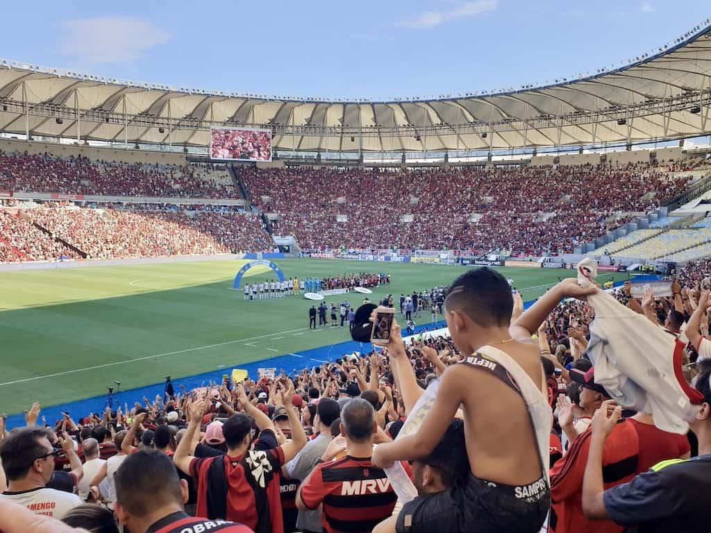 Fodboldrejse til Brasilien: Flumineise