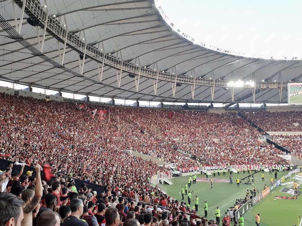 Fodboldrejse Brasilien: Maracana stadion