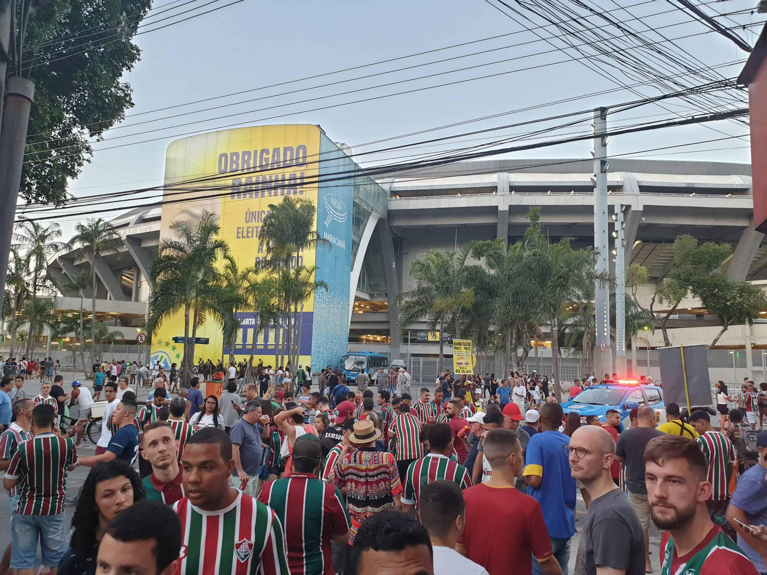 Fodboldrejser til Brasilien: Fluminense fans