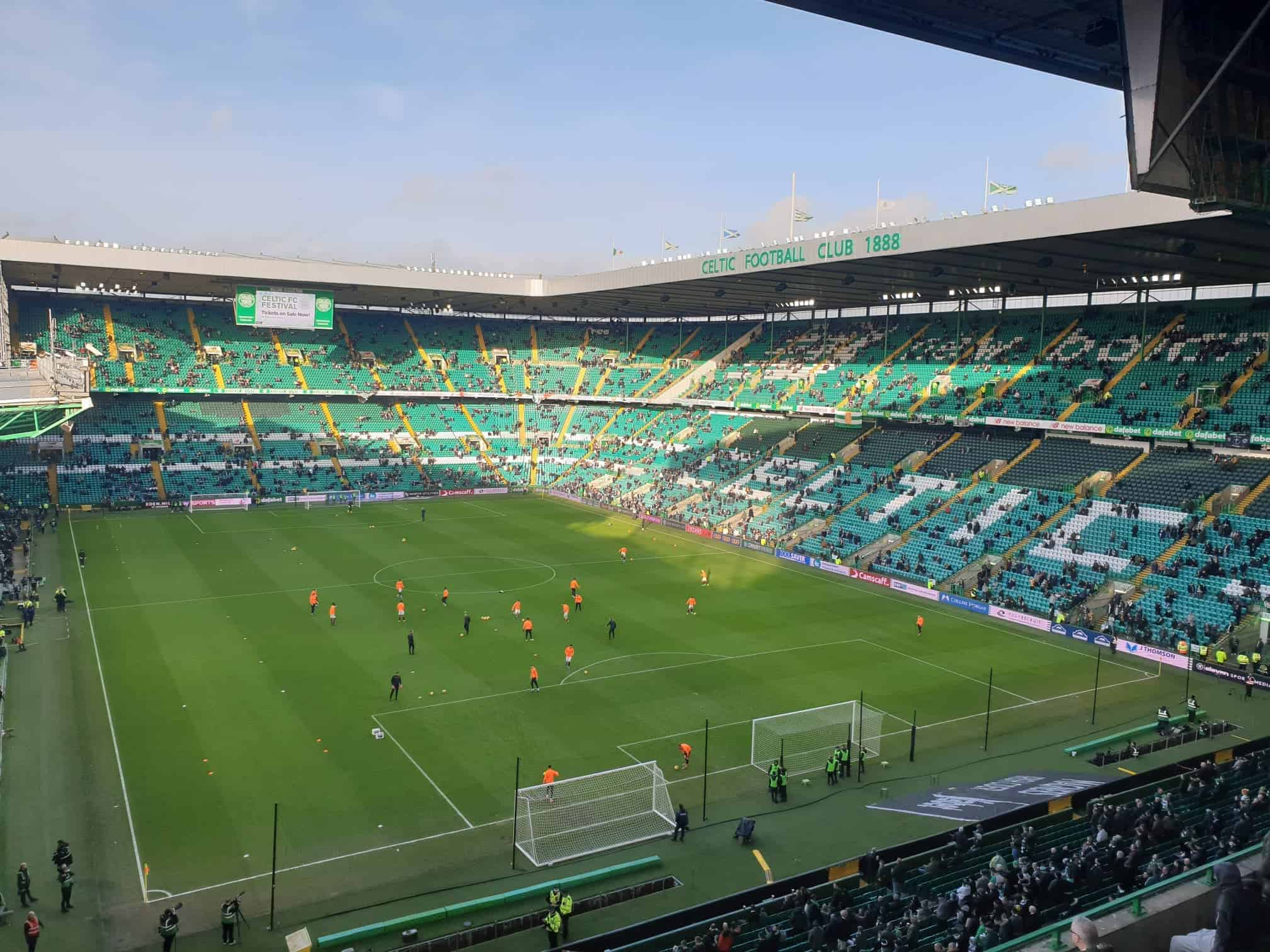 Old Firm: Celtic Park - Stadion