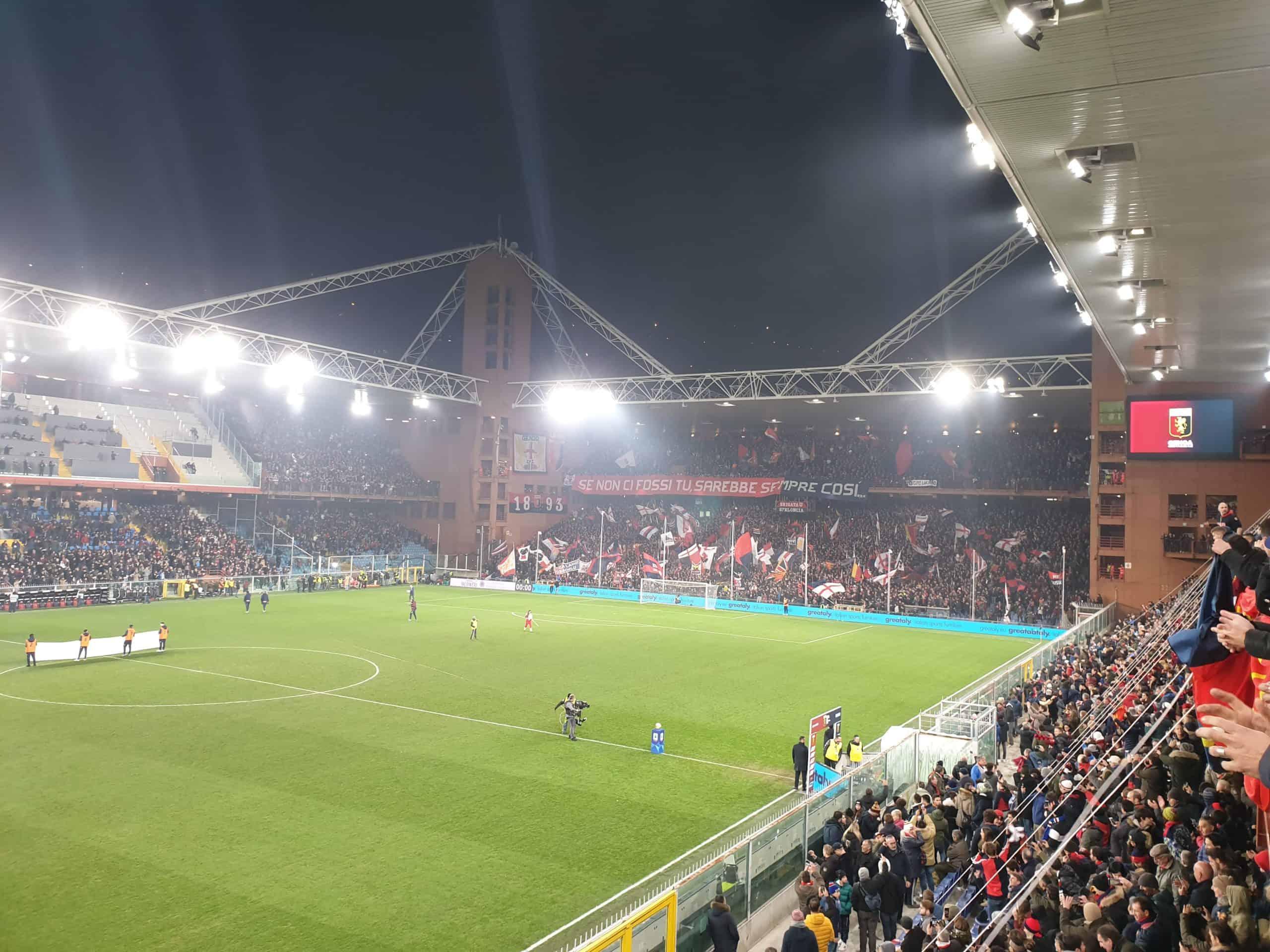 Derby Delle Lanterna: Stadio Luigi Ferraris side