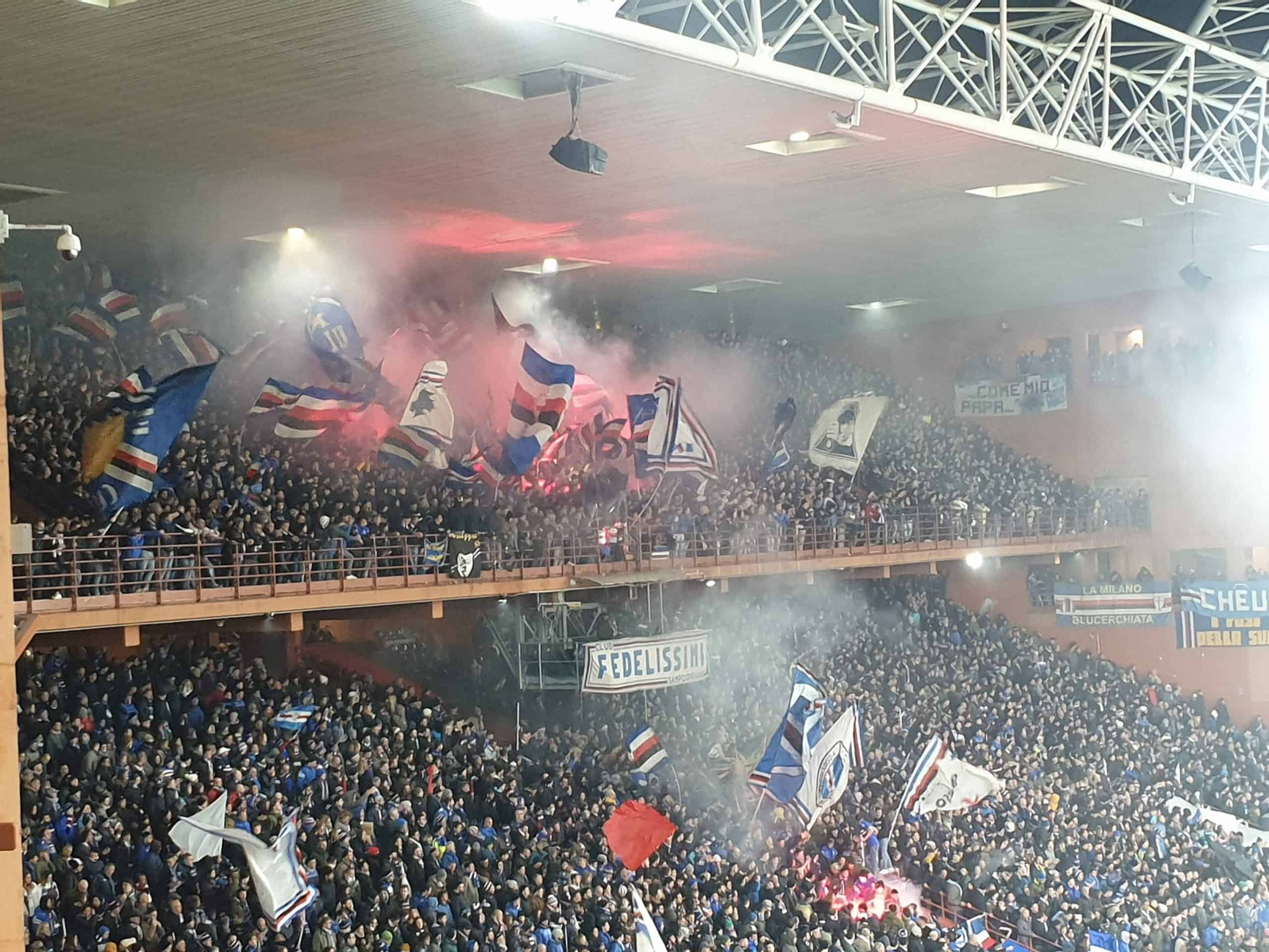 Derby Delle Lanterna: Stadio Luigi Ferraris Sampdoria Fans 2
